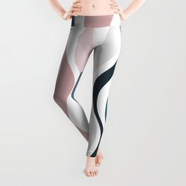 Abstract background 555 Leggings