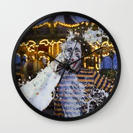 Clown Fruit Loops Milking - Le Grand Spectacle du Lait // The Grand Spectacle of the Milking Wall Clock