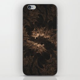 Abstract Fractal Design - Vintage Look iPhone Skin