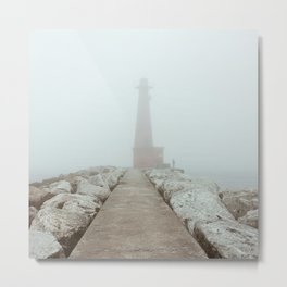 The Fisherman | Muskegon, MI Metal Print
