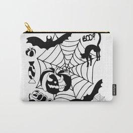 Halloween themed illustratio Carry-All Pouch
