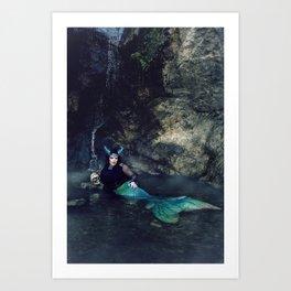 Scaled Siren Art Print