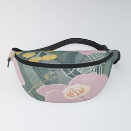 Orchid Forest Fanny Pack