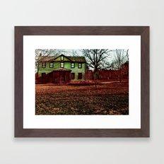 Dreaming House Framed Art Print