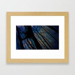 Sitting Still  Framed Art Print