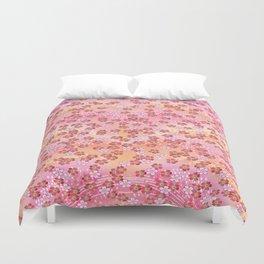 Rosa Blümchen Duvet Cover