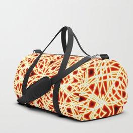 Flaming Chaos 9 Duffle Bag