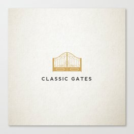 Classic Gates Canvas Print