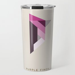 Purple Finch Travel Mug