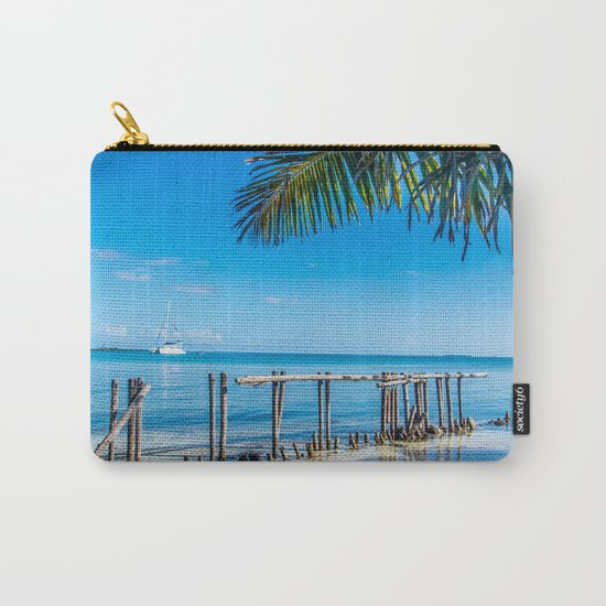 From Under the Palms Carry-All Pouch