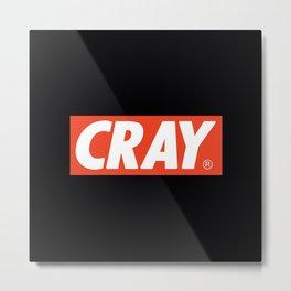 Cray Logo Metal Print