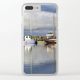 Sailing ships Clear iPhone Case