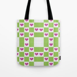 VALENTINES FABRIC PATTERN Tote Bag