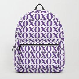 Purple XOXO Backpack