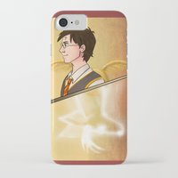 harry potter iPhone & iPod Cases featuring Harry Potter by Imaginative Ink