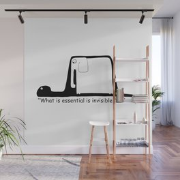 The Little Prince. Boa, elephant or hat. Wall Mural