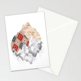 montañas collage Stationery Cards