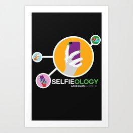 """Selfieology"" Art Print"