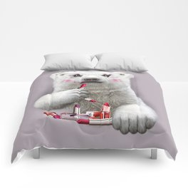 PAULA LIPSTICK Comforters