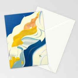 Vintage Champery Switzerland Travel Stationery Cards