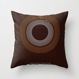 Concentric Disruption 2 Throw Pillow