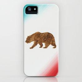 Nearly Patriotic, #21, California Bear Flag iPhone Case