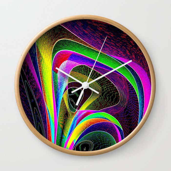 magneto-dynamic Wall Clock