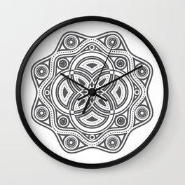 The All Seeing Eye Mandala Wall Clock