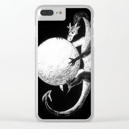 Dragon's Treasure Clear iPhone Case