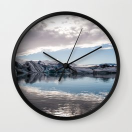 Jökulsárlón Glacier Lagoon Wall Clock