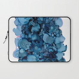 Indigo Abstract Painting   No. 8 Laptop Sleeve