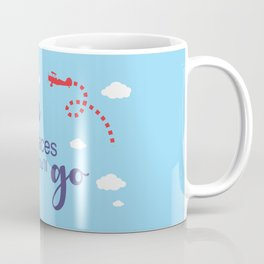 Oh, the places you'll go - Inspirational Quote for Room Decor #Society6 Coffee Mug