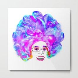 Bella da Ball Rainbow Metal Print