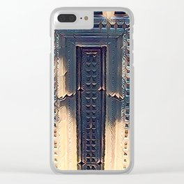 Temple of Eternity Clear iPhone Case