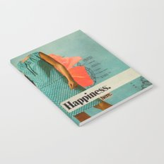 Happiness Here Notebook