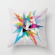 Colorful 2 XZ Throw Pillow