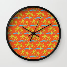 Swaying with the Tide_2 Wall Clock