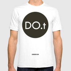 DO.t Mens Fitted Tee MEDIUM White