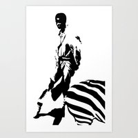 Beautu 3 Zebra Stripes Art Print
