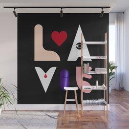 LOVE X LIFE Wall Mural