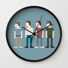 Stand By Me 8-Bit Wall Clock