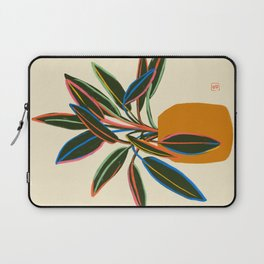 PLANT WITH COLOURFUL LEAVES  Laptop Sleeve