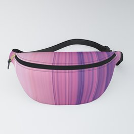 Abstract Vertical Violet and pink stripes Fanny Pack