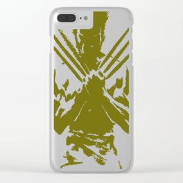 Wolverine Clear iPhone Case