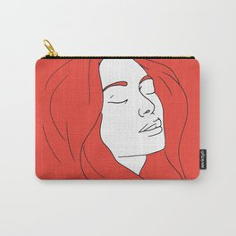 Woman in Reverie Carry-All Pouch