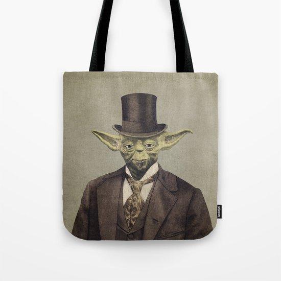 Sir Yodington  - square format Tote Bag