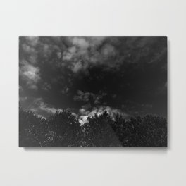 Darkly Clouded Metal Print