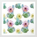 Cactus Pattern 06 by serigraphonart