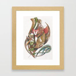 Essence of the fox Framed Art Print