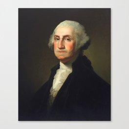 George Washington - Rembrandt Peale Canvas Print